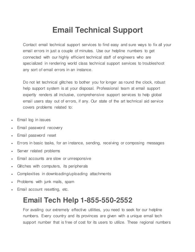 Email technical support phone number 1 (888) 278 0751 USA