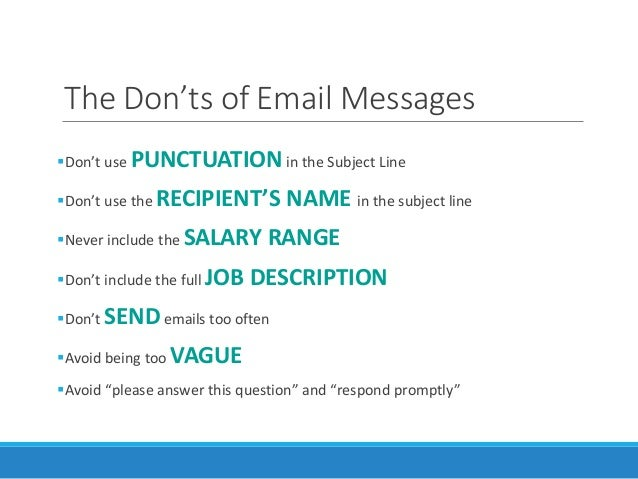 Email Tips For Passive Candidate Recruiting