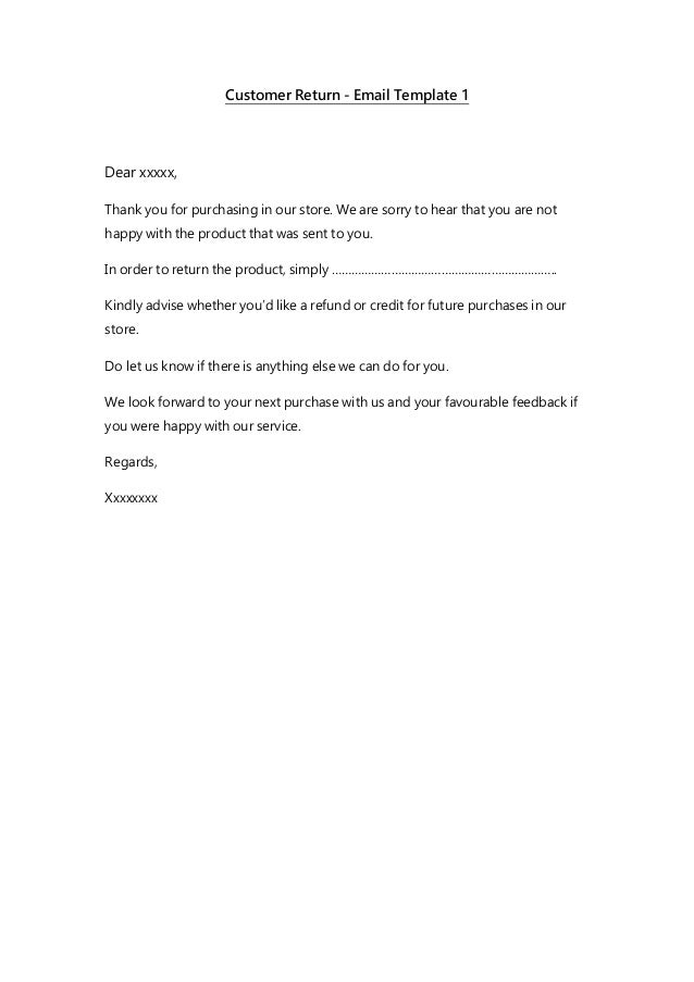 customer service message template - email templates customer service