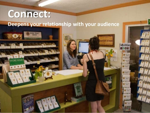 Connect: Deepens your relationship with your audience