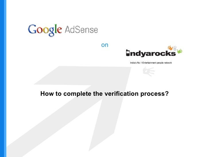 on How to complete the verification process?