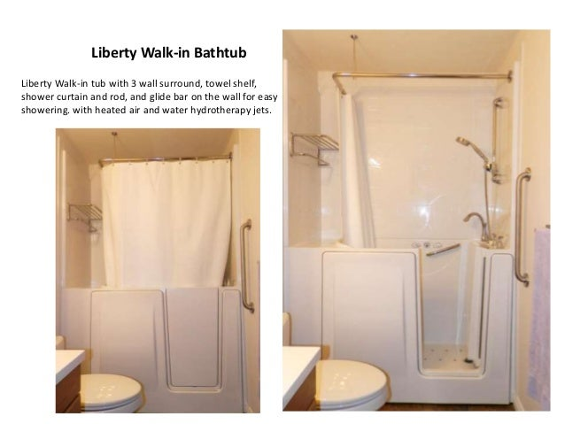 7 Liberty Walk In Bathtub