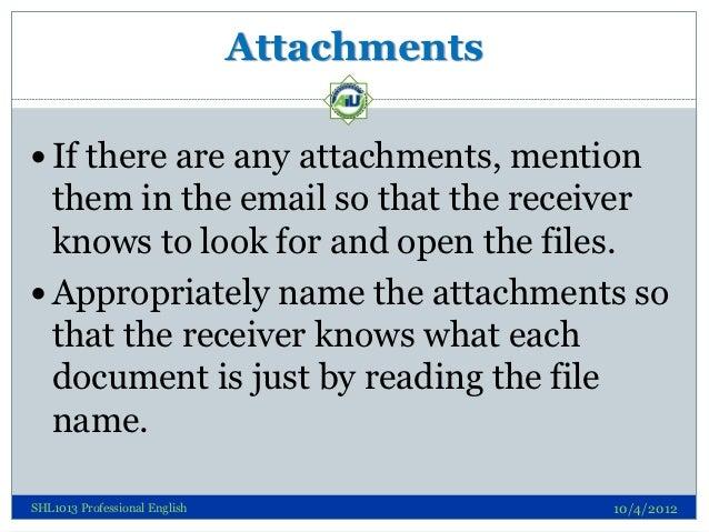 Email writing skills attachments spiritdancerdesigns Gallery