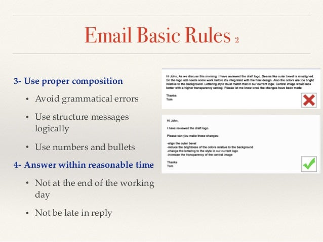 Email writing skills email altavistaventures Image collections