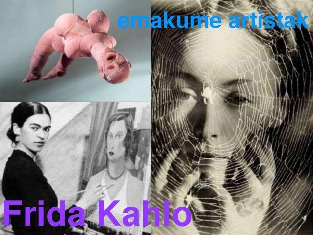 emakume artistak Frida Kahlo