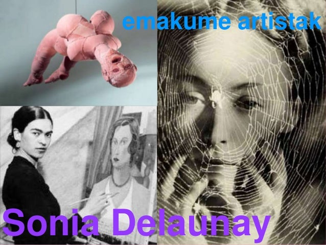 emakume artistak Sonia Delaunay
