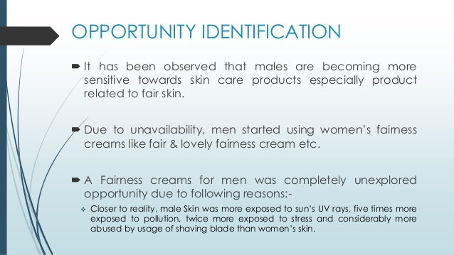 Consumer preference towards fairness cream
