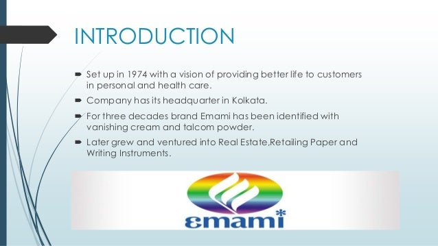 brand perception of emami fair and Emami news, emami latest  with an enviable portfolio of household brand names such as boroplus, navratna, fair and h  our perception of health is changing.