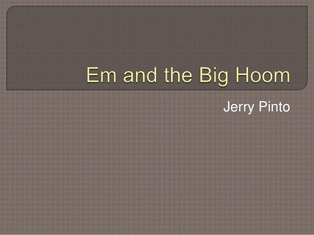 Jerry Pinto
