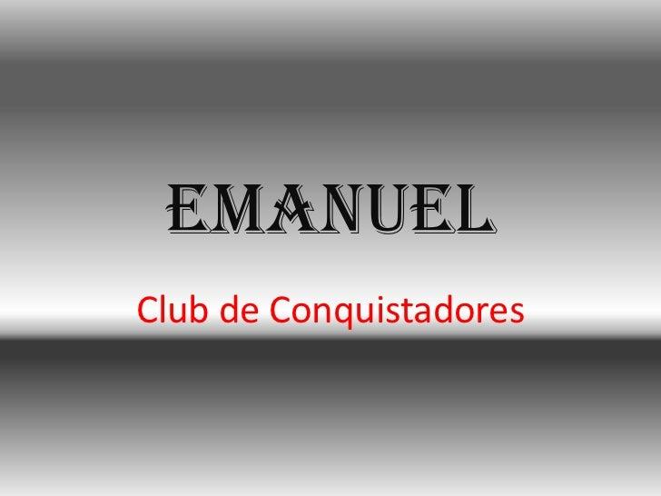 EmanuelClub de Conquistadores