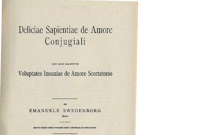Deliciae Sapientiae de Amore         Conjugiali                         POST {JUAS Sé{JUUNTURVoluptates Insaniae de Amore ...
