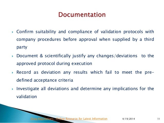 ema qualification validation requirements rh slideshare net  Dietary Guideline Chart