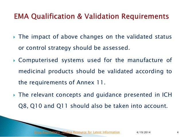 ema qualification validation requirements rh slideshare net Stroke Guideline Changes and Women