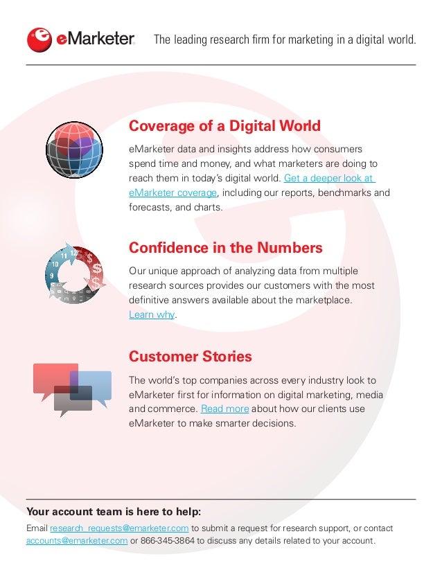 eMarketer Report - Customer Experience 2017