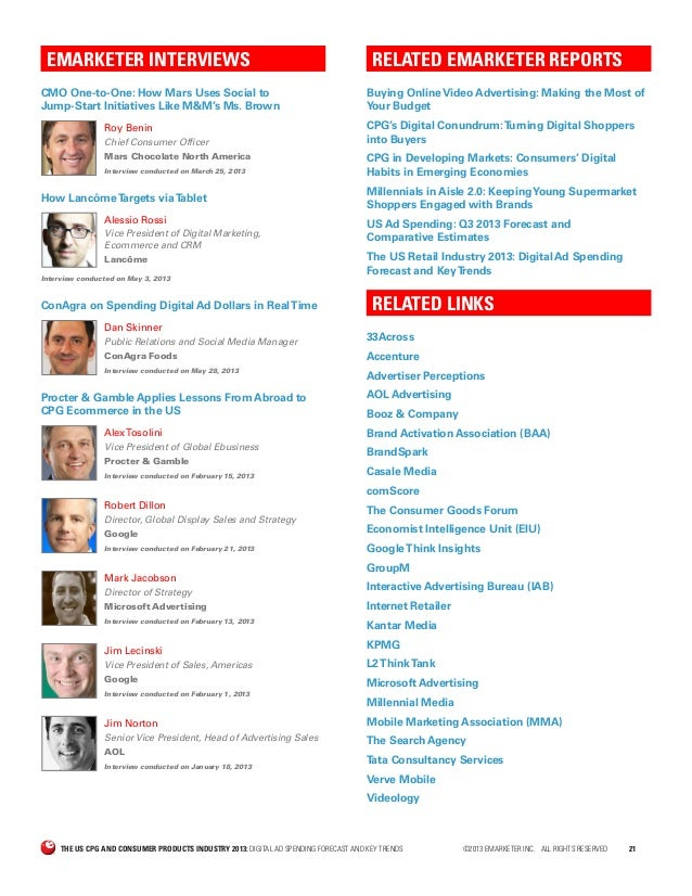 E marketer the_us_cpg_and_consumer_products_industry_2013 ...