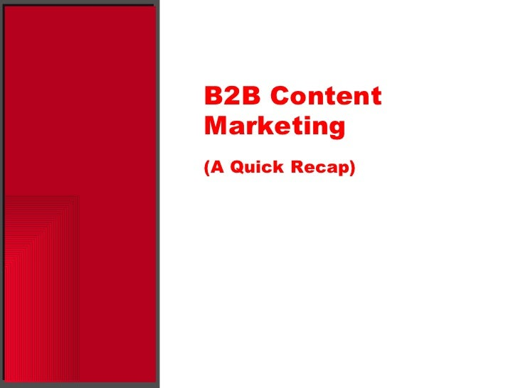 B2B Lead Generation—Using Content to Acquire New Customers Slide 3