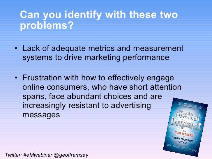 eMarketer Webinar: Secrets to Online Marketing Success Slide 3