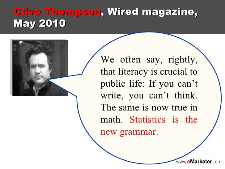 "clive thompson s the new literacy is Clive thompson delivers a resounding ""yes"" in smarter than you think, thompson shows that every  clive thompson is a contributor for the new york."