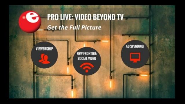 eMarketer Webinar: Video Beyond TV
