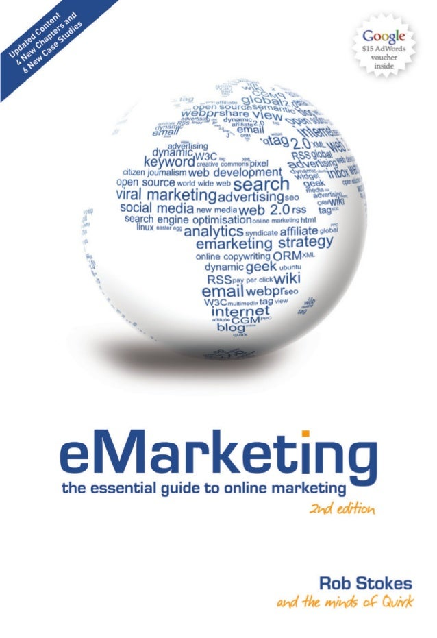 """reviews for eMarketing:the essential guide to online marketing first edition            """"Quirk's eMarketing handbook cover..."""
