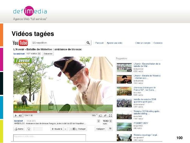 Vidéos tagées<br />100<br />