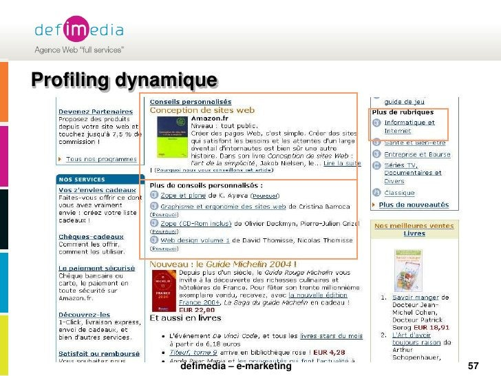 Profiling dynamique<br />57<br />