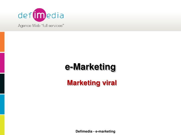 e-Marketing<br />Marketing viral<br />