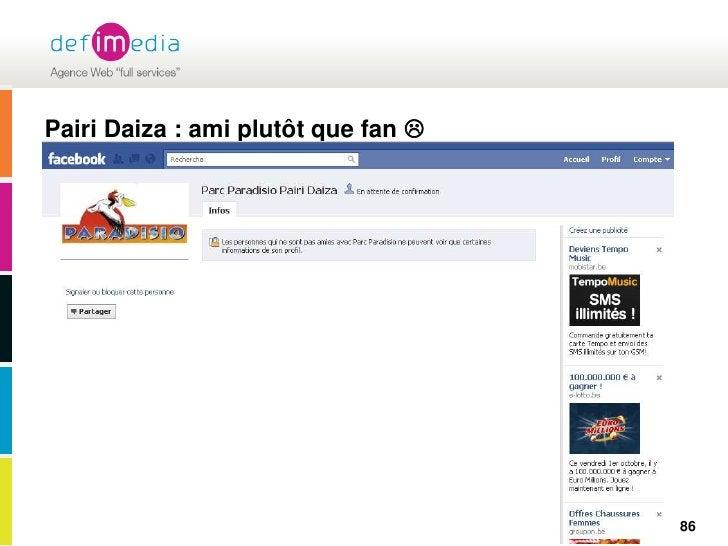 Pairi Daiza : ami plutôt que fan  <br />86<br />