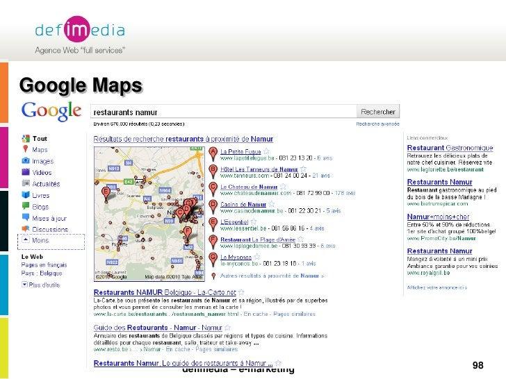 Google Maps<br />98<br />