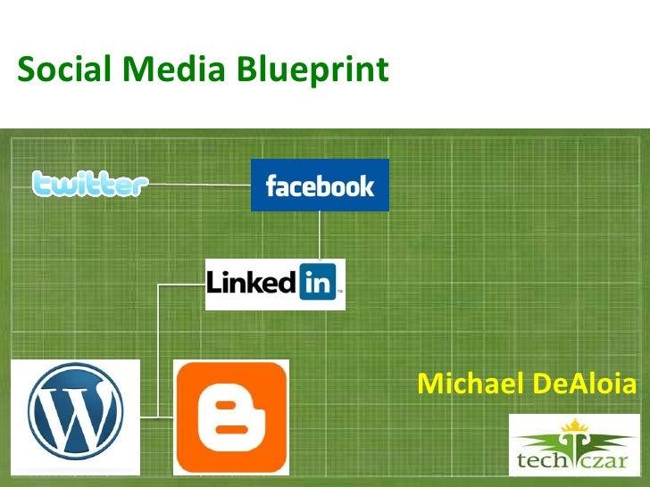 Social Media Blueprint                              Michael DeAloia