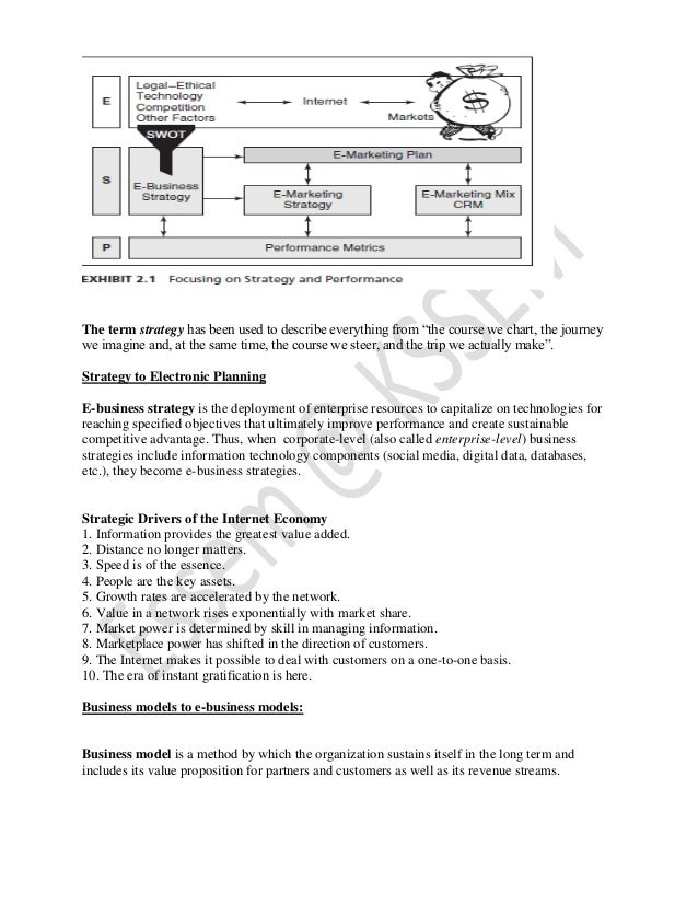 E marketing vtu notes environment strategy and performance 11 fandeluxe Choice Image