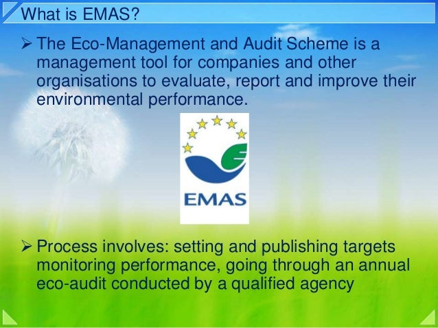 A guide to the eco-management and audit scheme for uk local.