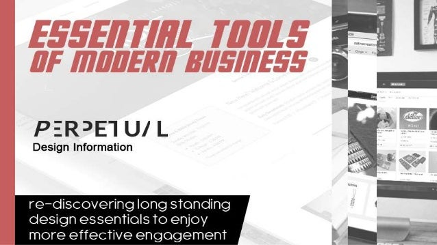 Essential Tools of Modern Business