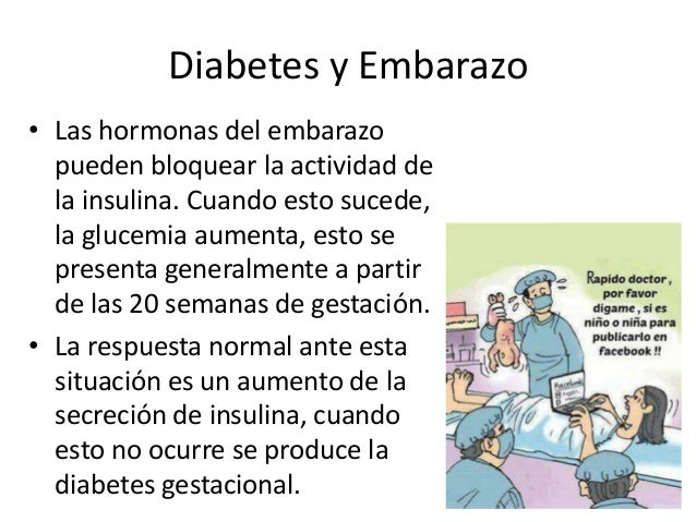 Embarazo diabetes Slide 2