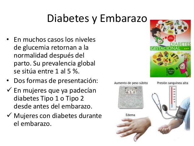 Embarazo diabetes Slide 3