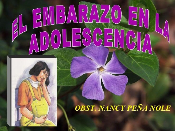 OBST. NANCY PEÑA NOLE