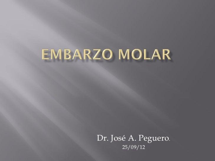 Dr. José A. Peguero.      25/09/12