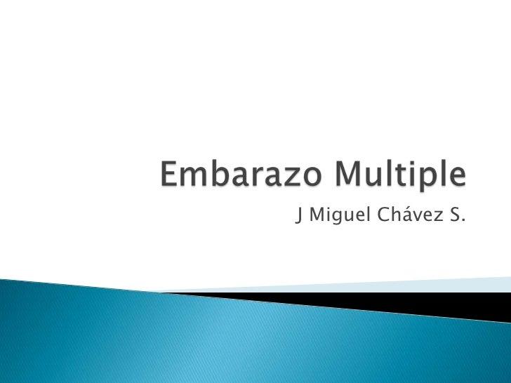 J Miguel Chávez S.