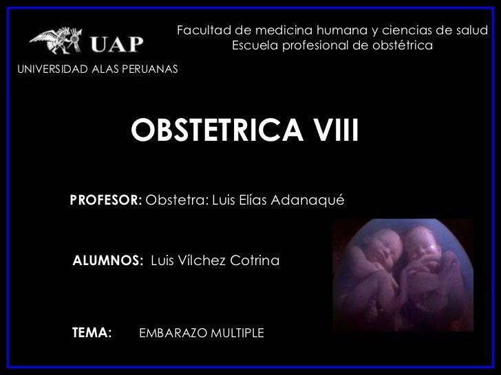 Facultad de medicina humana y ciencias de salud                                Escuela profesional de obstétricaUNIVERSIDA...