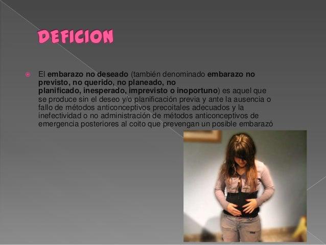 Embarazo no deseado Slide 2