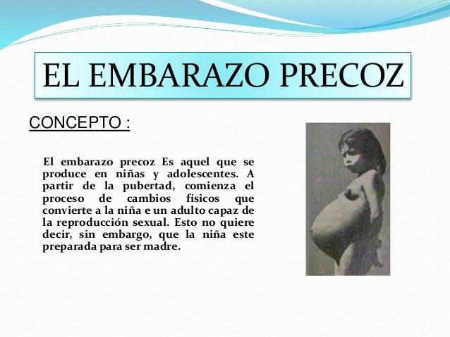 3b732dcd2 CURSO  EDUCACION POR EL EMBARAZO PRECOZ CONCEPTO   El embarazo precoz Es  aquel que se produce en niñas y ...