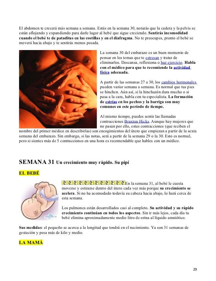 4ef0d4930 Embarazo semana a semana