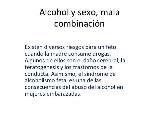 Alcohol y sexo, mala combinación Existen diversos riesgos para un feto cuando la madre consume drogas. Algunos de ellos so...
