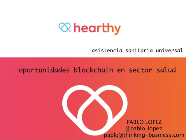 Blockchain en Sector Salud Slide 2
