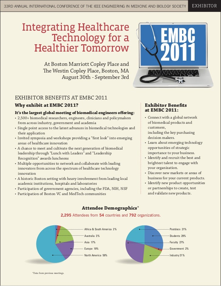 33RD ANNUAL INTERNATIONAL CONFERENCE OF THE IEEE ENGINEERING IN MEDICINE AND BIOLOGY SOCIETY                          EXHI...