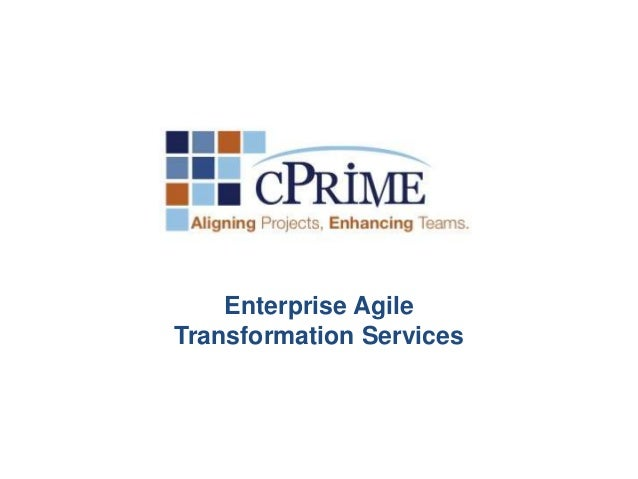 Enterprise Agile  Transformation Services