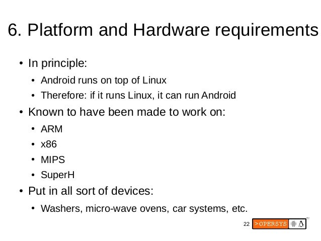 Embedded Android Workshop with Oreo