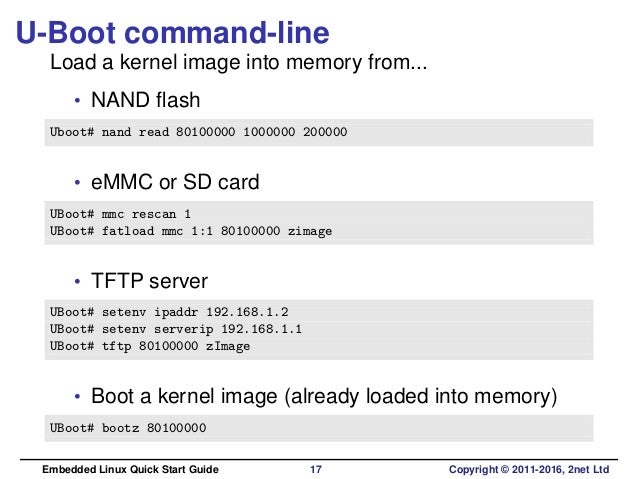 Embedded Linux Quick Start Guide