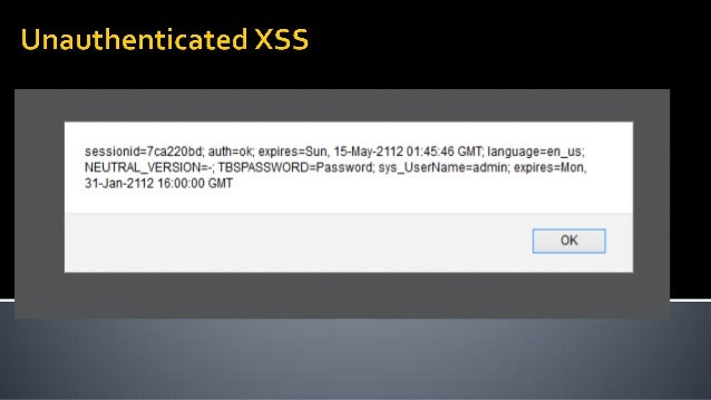 TP Link webcamCSRF ( won't fix – EOL product ) Foscam webcamCSRF ( fixed – by requiring browser plugin ) ASUS router CSRF,...