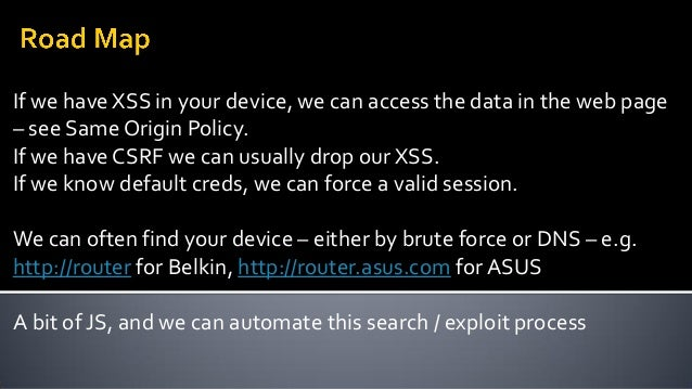 Cross Site Request Forgery in D-link 932L and 5020L cameras Basic auth, so if you've asked the browser to remember, it get...